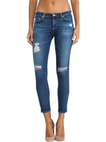 Legging Ankle Distressed Skinny Denim  in 11 Years Swap Meet