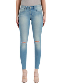 Sarah Distressed Skinny Denim in Light Vintage