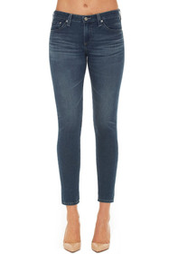 The Legging Ankle Skinny Denim in 7 Years Blue Dust