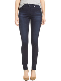 Farrah High Waist Skinny Denim in Brooks