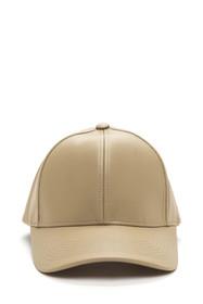 Brooklyn Faux Leather Baseball Cap