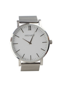 The Mesh Minimalist Watch in Silver