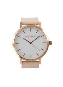 The Classic Minimalist Watch in Blush/Rose Gold