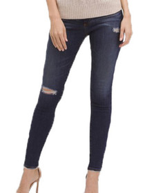 Farrah High Waist Skinny Denim In 8 Years Wander
