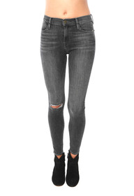 Le High Skinny Jean Denim In Central