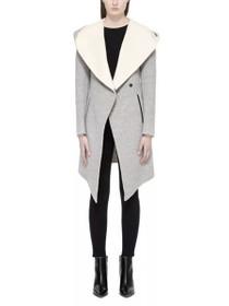 Joslyn Hooded Wool Coat