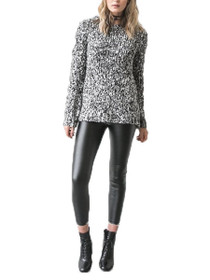 Karlene Long Sleeve Knit Pullover