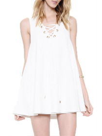 Seychelles Swing Lace Up Dress