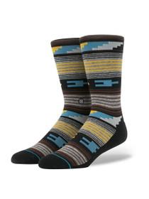 Vibrato Print Socks