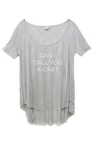 Call You A Cab Graphic Nighty