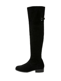 Millie Suede Leather Over Knee Boot