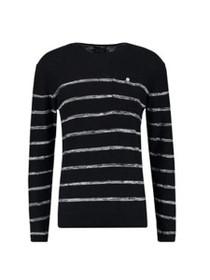 Striped Crew Neck Pullover