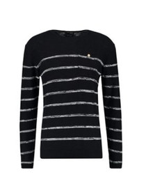Striped Crew Neck Pullover