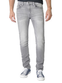 Torino Slim Leg Denim In Mystic Grey
