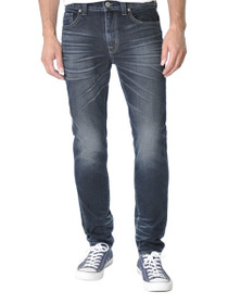 Jimmy Slim Straight Leg Denim In Blueheart