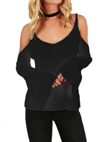 Zella Open Shoulder Knit