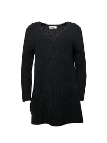 Eden V-Neck Knit Sweater Dress