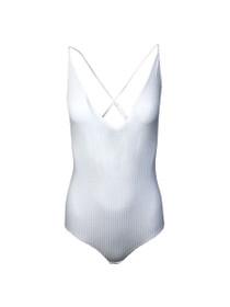 Venus Ribbed Strappy Bodysuit