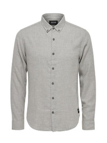 Heaver Long Sleeve Slim Button Down Shirt