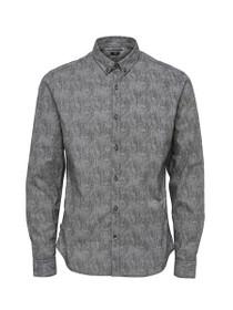 Broker Long Sleeve Slim Button Down Shirt