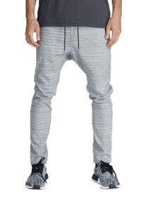 Cling Ponte Chino Sweatpants In Space Grey