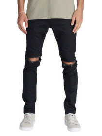 Joe Blow Destroyed Denim In Black