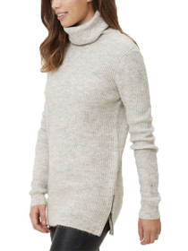 Miriam Long Sleeve Rollneck Knit Sweater