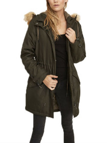 Sandra Faux Fur Hooded Parka