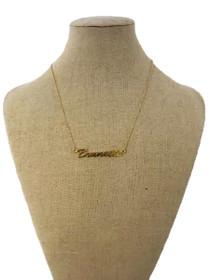 Brunette Pendant Necklace