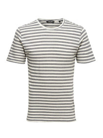 Allan Fitted Striped Short Sleeve Tee