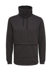 Brutus High Neck Zip Sweater
