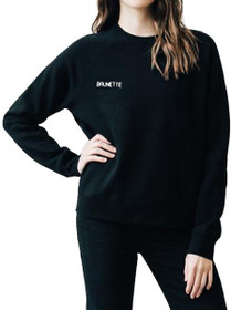 "Middle Sister ""Brunette"" Chainstitch Crew Sweatshirt"