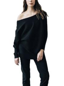 Daria Oversized Rib Pullover Sweater