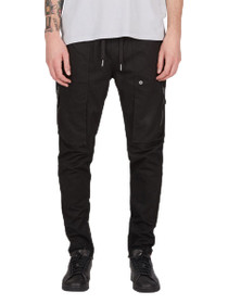 Blockshot Chino Slim Jogger in Black