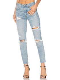 Karolina High Rise Skinny Denim in A Little More Love