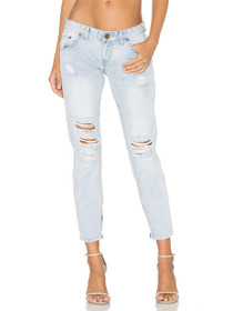 Freebirds Distressed Denim in Aspen