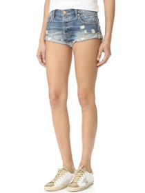 Bandits Denim Short in Blue Buoy