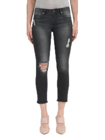 Carly Crop Skinny Denim in Dixon