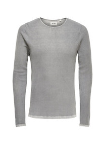 Patterson Crew Neck Long Sleeve Knit Shirt