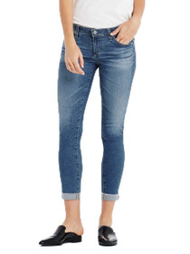 The Stilt Roll-Up Skinny Denim in 12 Years Canyon