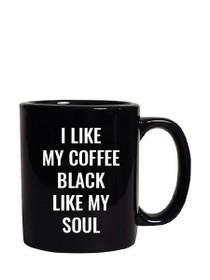 Black Soul Oversized Mug