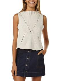 Sunfell Knit Crop Top