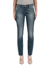 Shannon Slim Straight Denim in Easton