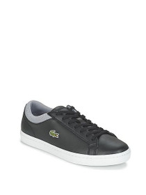 Straight Set Leather Sneakers