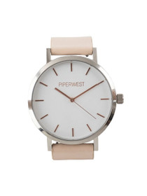 Duo Minimalist Watch in Blush/Silver/Rose Gold