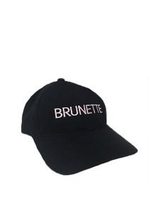 Brunette Baseball Cap