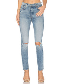 Karolina High Rise Skinny Denim in What Is Life