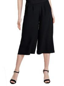 Charlotte Solid Culotte Trouser Pants