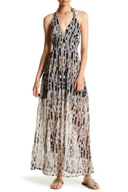 Willow Boho Halter Maxi Dress