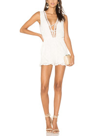 Palace Plunging V-Neck Playsuit